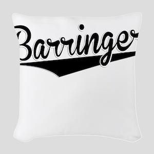 Barringer, Retro, Woven Throw Pillow