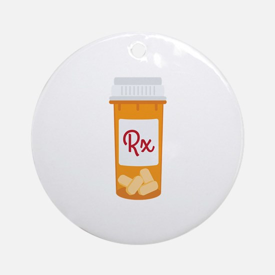 RX Ornament (Round)