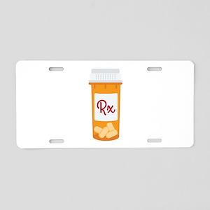 RX Aluminum License Plate