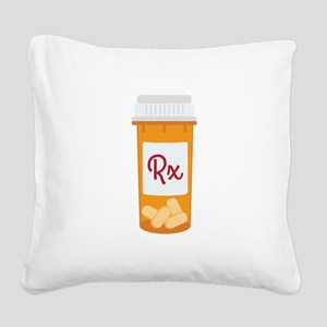 RX Square Canvas Pillow