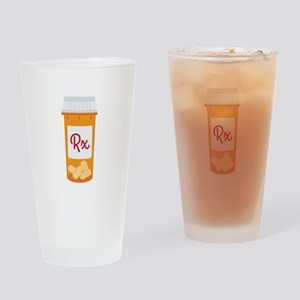 RX Drinking Glass