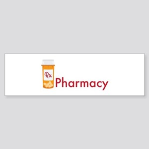 RX Pharmacy Bumper Sticker