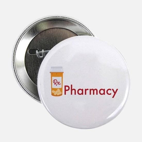 "RX Pharmacy 2.25"" Button"
