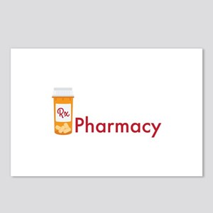 RX Pharmacy Postcards (Package of 8)
