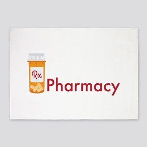 RX Pharmacy 5'x7'Area Rug