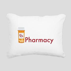 RX Pharmacy Rectangular Canvas Pillow