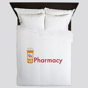 RX Pharmacy Queen Duvet