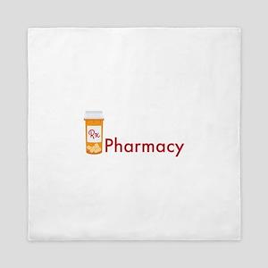 RX Pharmacy Queen Duvet