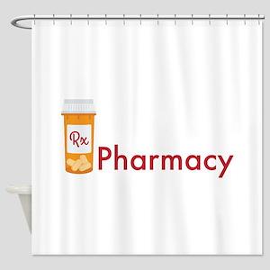 RX Pharmacy Shower Curtain