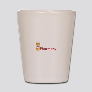 RX Pharmacy Shot Glass