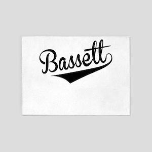 Bassett, Retro, 5'x7'Area Rug
