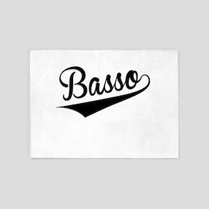 Basso, Retro, 5'x7'Area Rug