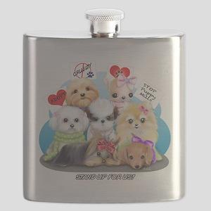 Puppies Manifesto Flask