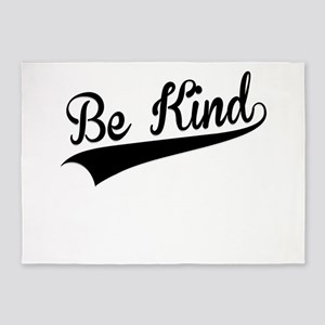 Be Kind, Retro, 5'x7'Area Rug