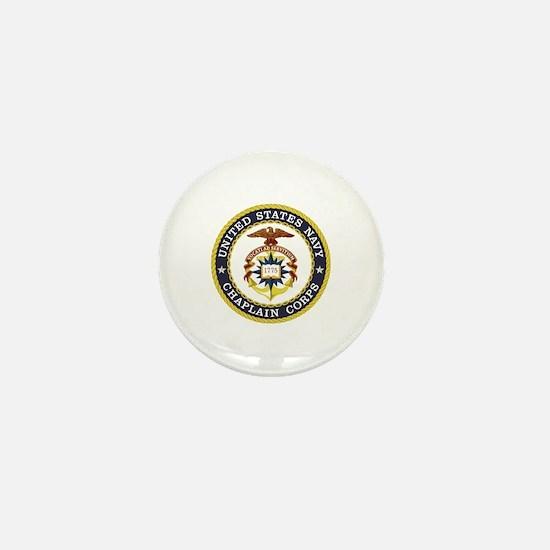 US Navy Chaplain Mini Button