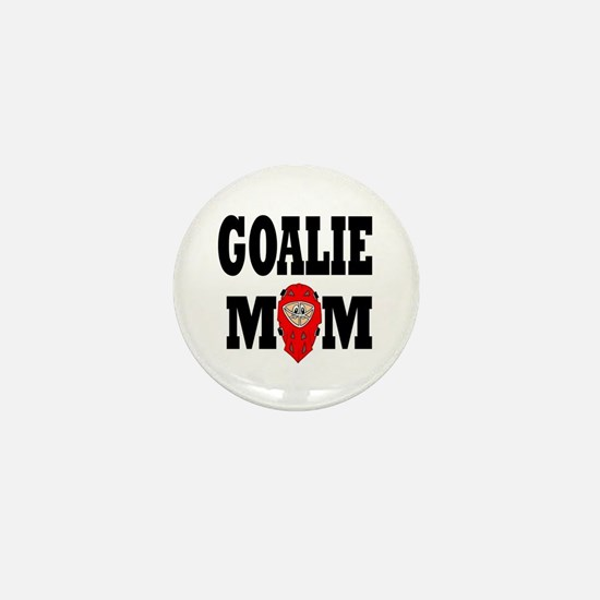 Goalie Mom Mini Button