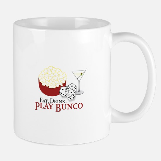 EAT.DRINK.PLAY BUNCO Mugs