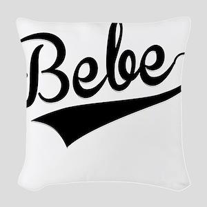 Bebe, Retro, Woven Throw Pillow
