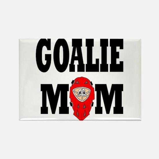 Goalie Mom Rectangle Magnet