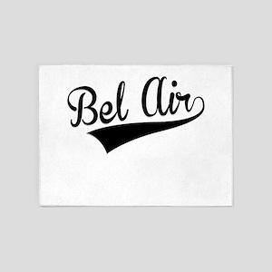 Bel Air, Retro, 5'x7'Area Rug