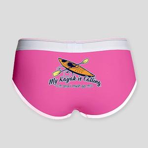 My Kayak Is Calling Women's Boy Brief
