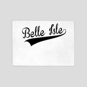 Belle Isle, Retro, 5'x7'Area Rug