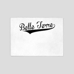 Belle Terre, Retro, 5'x7'Area Rug