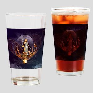 Beautiful fairy Drinking Glass