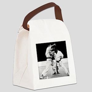 Karate Master Canvas Lunch Bag