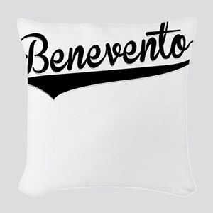 Benevento, Retro, Woven Throw Pillow
