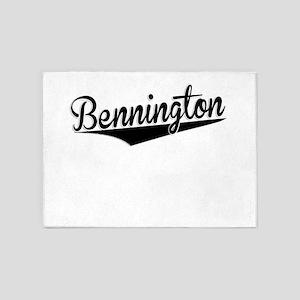 Bennington, Retro, 5'x7'Area Rug