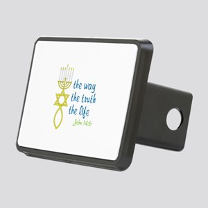 John 14:6 Rectangular Hitch Cover