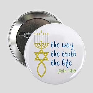 "John 14:6 2.25"" Button"