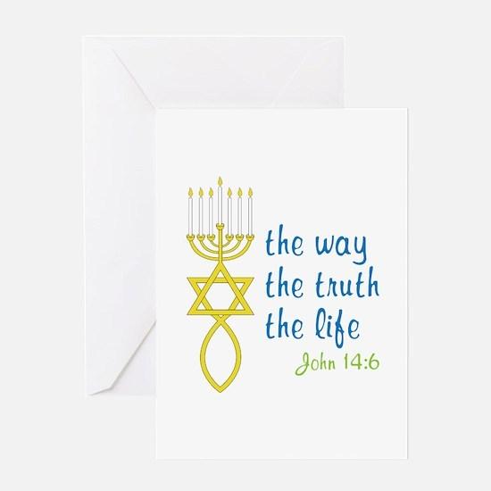 John 14:6 Greeting Card