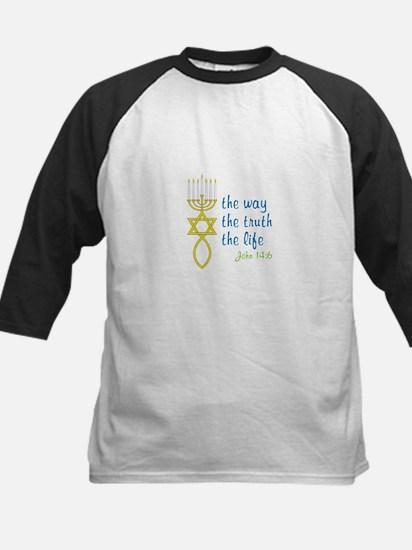 John 14:6 Kids Baseball Jersey