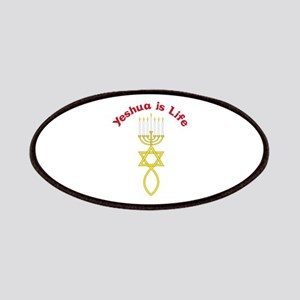 Yeshua is Life Patches