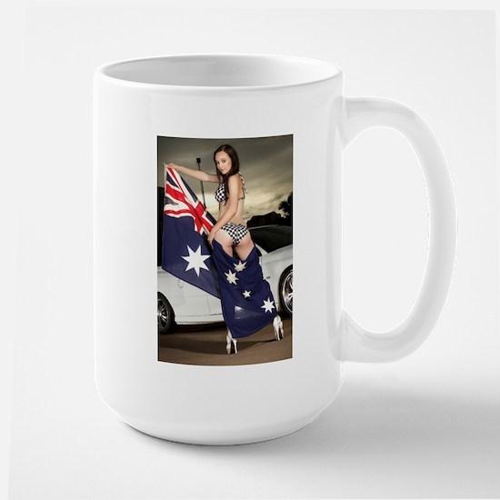 Australia Day Babes Mugs