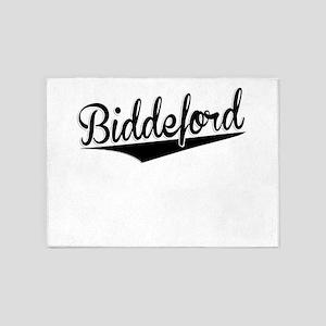 Biddeford, Retro, 5'x7'Area Rug