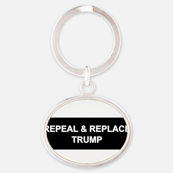 Repeal and Replace Trump Keychains