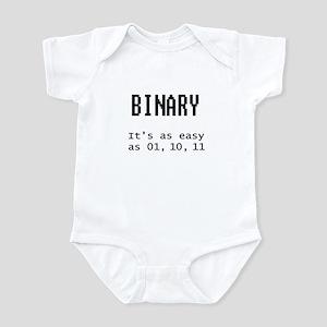 Easy Binary Infant Bodysuit