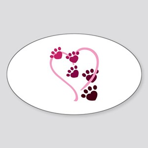 Dog Paws Sticker