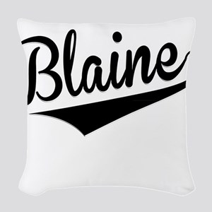 Blaine, Retro, Woven Throw Pillow