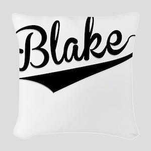 Blake, Retro, Woven Throw Pillow