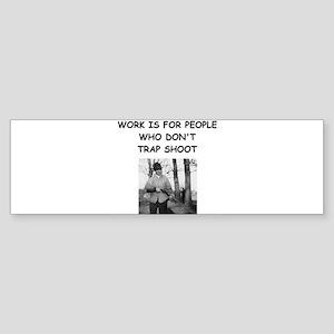TRAP2 Bumper Sticker