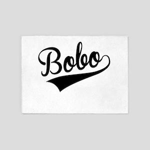 Bobo, Retro, 5'x7'Area Rug