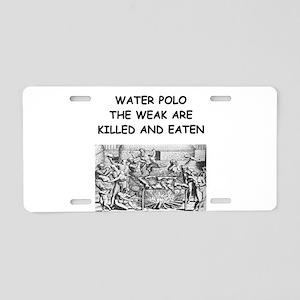 WATER5 Aluminum License Plate