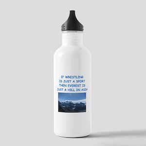 WRESTLING5 Water Bottle
