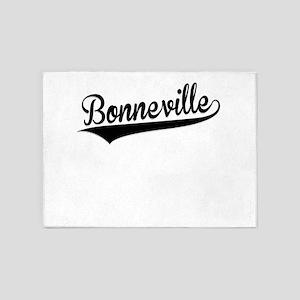 Bonneville, Retro, 5'x7'Area Rug