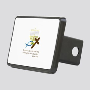 Micah 6:8 Rectangular Hitch Cover