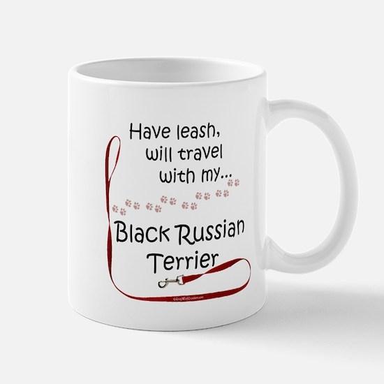 Black Russian Travel Leash Mug